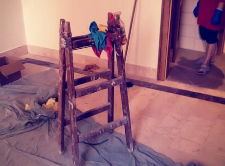 Úklid domácnosti po stavbě