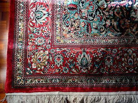 Čištění perských koberců